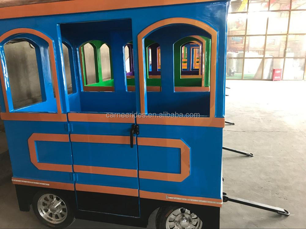 Popular Shopping Mall Thomas Electric Trackless Train Rides for Kids