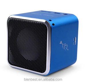 Cheap mini portable speaker with FM radio with TF card USB support audio music player
