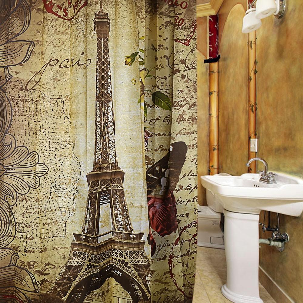 Paris Eiffel Tower Waterproof Polyester