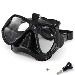 2018 Professional Underwater Diving Mask Scuba Snorkel Swimming Goggles Scuba Diving Equipement Suitable For Most Sport Camera