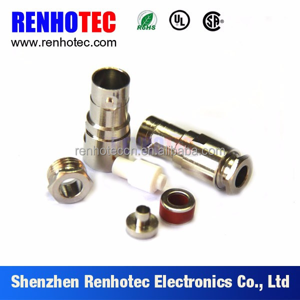 Female waterproof clamp BNC Connector for RG 59 cable
