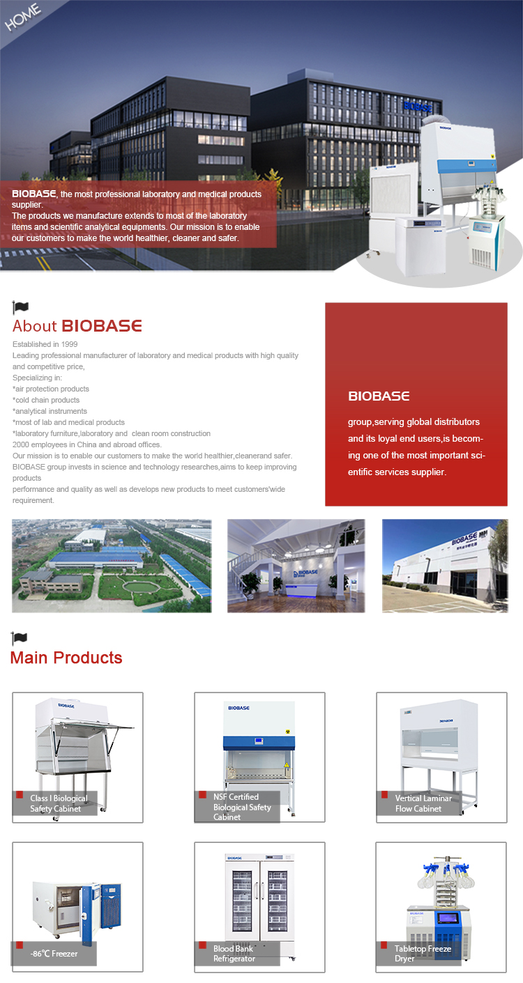 BIOBASE China Laboatory Clean Room Class 100 Low Noise Clean Booth with FFU/Down Flow Booth price hot sale