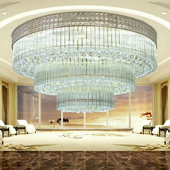 Modern style large crystal chandelier for hotels lobby buy large modern style large crystal chandelier for hotels lobby aloadofball Image collections