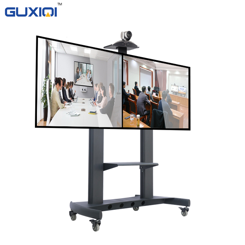 LCD TV TOUCH SCREEN PANEL TV TOUCH PANEL LCD MONITOR TROLLEY REMOTE CONTROLLED GEMOTORISEERDE LIFT STAND FLOOR STAND TV MOUNTS