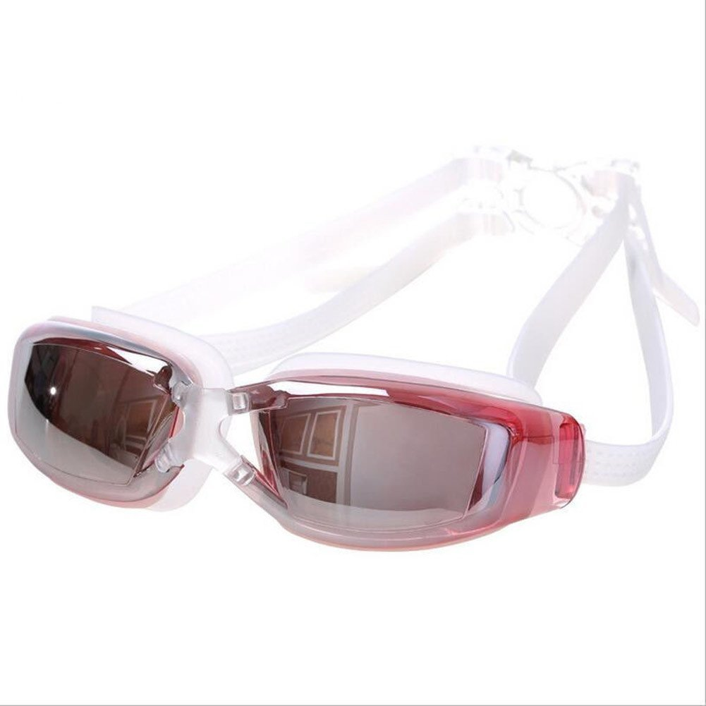 292060e690 Get Quotations · Sky-shop Women s Mirrored Swim Goggle Junior Swim Goggles  Bungee Cord Strap Swim Mask Fog