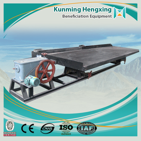 China competitive price cheap tungsten ore shaking tables