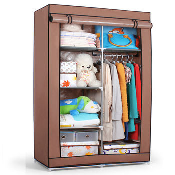 SW portable storage cabinet design assemble metal wardrobe bedroom furniture  sc 1 st  Alibaba & Sw Portable Storage Cabinet Design Assemble Metal Wardrobe Bedroom ...