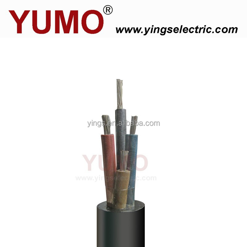 YUMO 300/500V Rubber cable for coal mining electric drill with CE