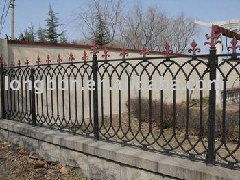 2015 top-selling handmade rod iron rustic garden fence - buy