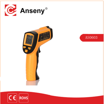 Gun Type non-contact IR Laser Digital Infrared Thermometer for Industrial high temperature Infrared Thermometer