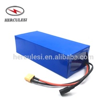 Ebike Lithium Battery 36V 15Ah / 18Ah / 20Ah Li Ion 18650 Battery Pack For Electric Scooter EVO 500W 800W 1000W