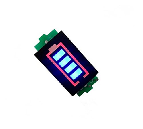 Many Helicopter Quadcopter Airplane Boat Car Controller 7.4V 2S Li-Po LiPo Battery Indicator Display LED Board RC Power Storage Monitor Batteries 6.6-8.4V 2-cell