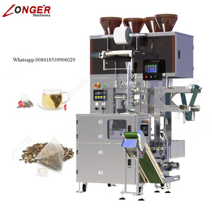 Factory Price Multifunction Automatic Kenya Nylon Pyramide Triangle Herb Tea Bag Filling Packing Machine Tea Packaging Equipment