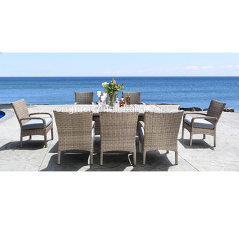 Athens Greece Style Light Color Casual Outdoor Dining Furniture With Pe  Rattan Covered Garden Table And Chairs - Buy Garden Table And Chairs,Athens  ...