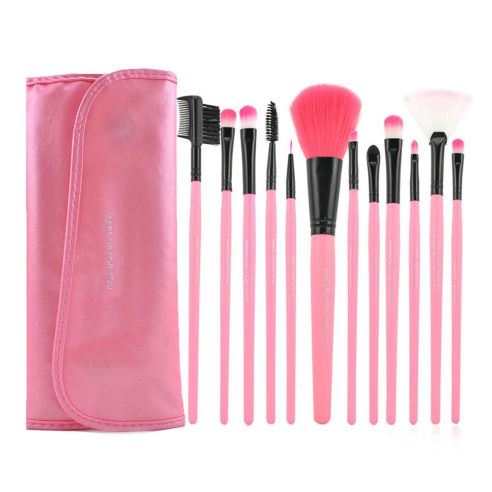 d62afc884a3 Get Quotations · 12 Pcs XMB Brand Cosmetic Makeup Kit High-grade Fiber  Makeup Brush Set Foundation For