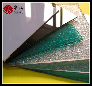 green flame resistance ten years warranty polycarbonate glass greenhouse roof sheets price per sheet
