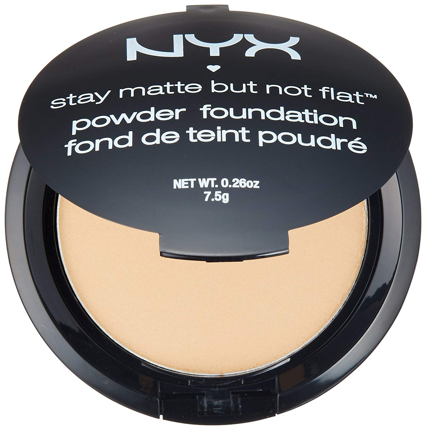 Buy Nyx Professional Makeup Stay Matte But Not Flat Powder Foundation Warm Beige 0 26 Ounce In Cheap Price On Alibaba Com