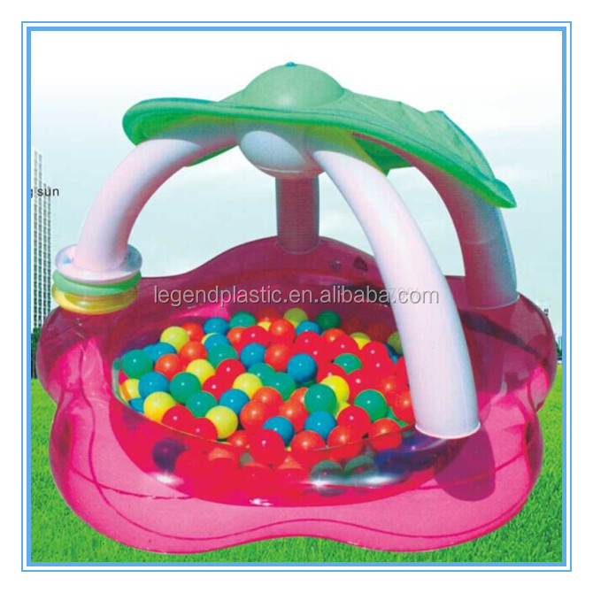 Activity pool inflatable pool, baby play pool with sunshade