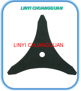 machinery spare parts for grass brush /metal blade for garden machine /China factory metal blade