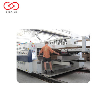 GIGA Corrugated Carton Flexo Printing Slotting and Die Cutting Machine Used for Flexo Printing LX 608 Automatic
