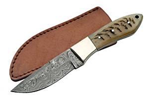SZCO Supplies Ram Handle Hunter Knife