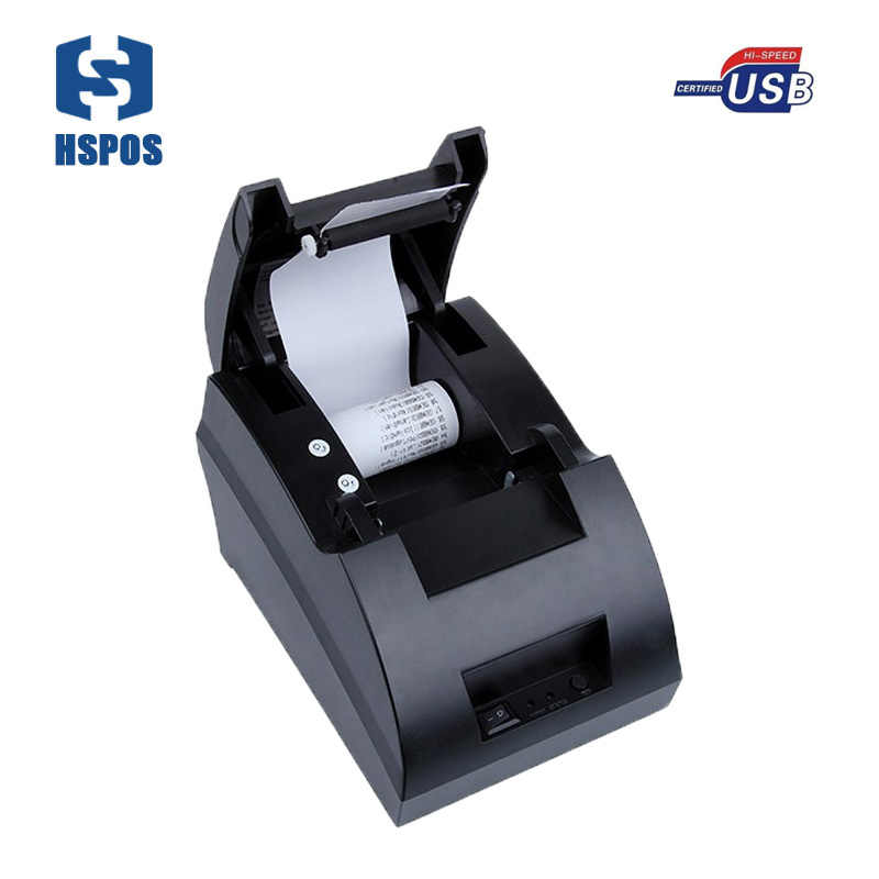 pos printer 58mm thermal receipt printer support multi language, wind10 with hight speed impresora for pos system
