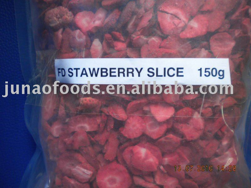 Chinese Freeze dried strawberry slice