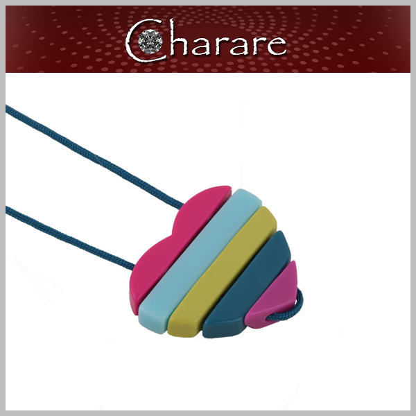 2015 New Style Simple Rainbow Fashion Jewelry Pendant Necklace