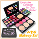 2015 New Arrival ADS makeup kits cosmetics Makeup Kit all-in-one Makeup Kit