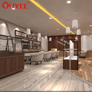 Modern Commercial Retail Store Bar Counters Decoration Used Coffee Shop Furniture for Sale