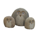 Good Sale Fujian Original Owl's family Set Stone Gifts For Home Decor
