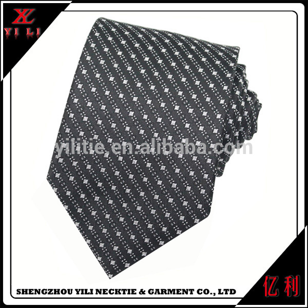 Blank Plain Polka Dot Men Twill Silk Ties