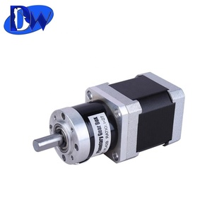 Efficiency 90% geard 5.18:1 planetary gear box NEMA 17 stepper motor