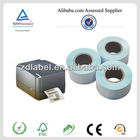 2014 hot adhesive bar code paper label for printer