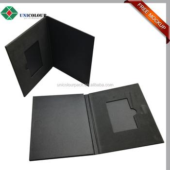 Custom Cardboard Briefcase Business Card Folder Holder