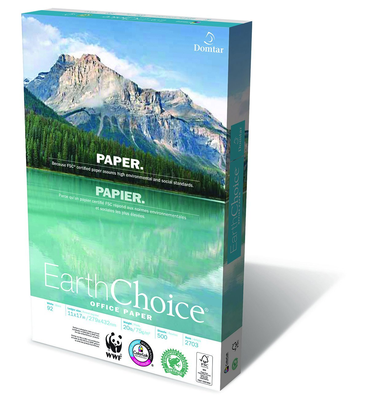 "Domtar Earthchoice Office Paper, 11""x17"", Ream"