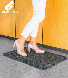 Custom non-toxic anti-slip stable standing memory medical mat for speaker