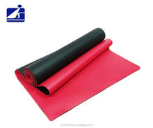 Taiwan manufacturer eco-friendly private label two tone NBR yoga mat