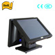 15'' Dual Core motherboard touch POS system for restaurant