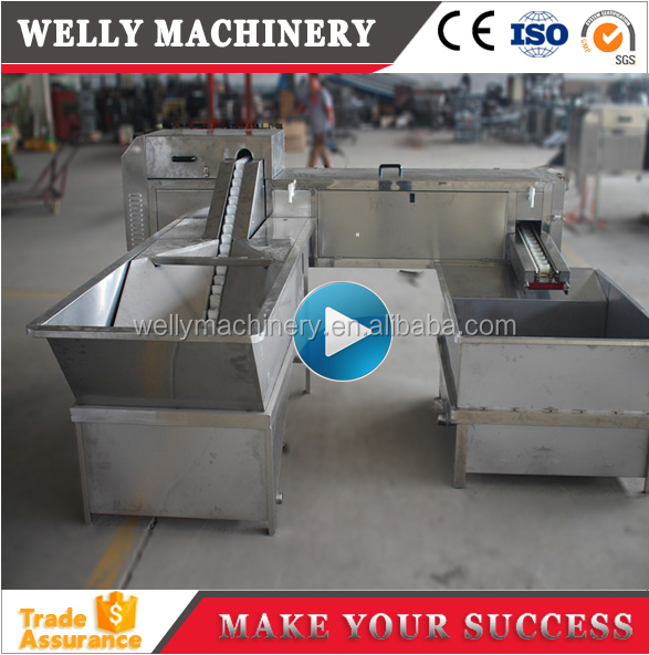 High quality automatic egg washing machine for egg processing plant