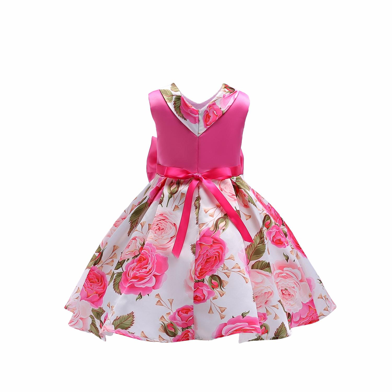 4a0be05e4 De Los Niños Vestidos De Bebé Niña Vestidos De Fiesta De Boda De La  Princesa 1 Año De Cumpleaños De Las Niñas,Vestido De Algodón,Verano De 2019  ...