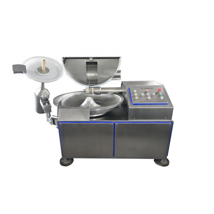 Blade sausage bowl cutter for meat factory direct sales