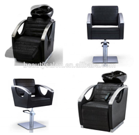 salon styling chair/electric shampoo chair with auto massage ZY-LC0142/ZY-SC0142