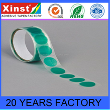 Factory Provide Green Pet Adhesive Tape Dots For Electronic Assembly