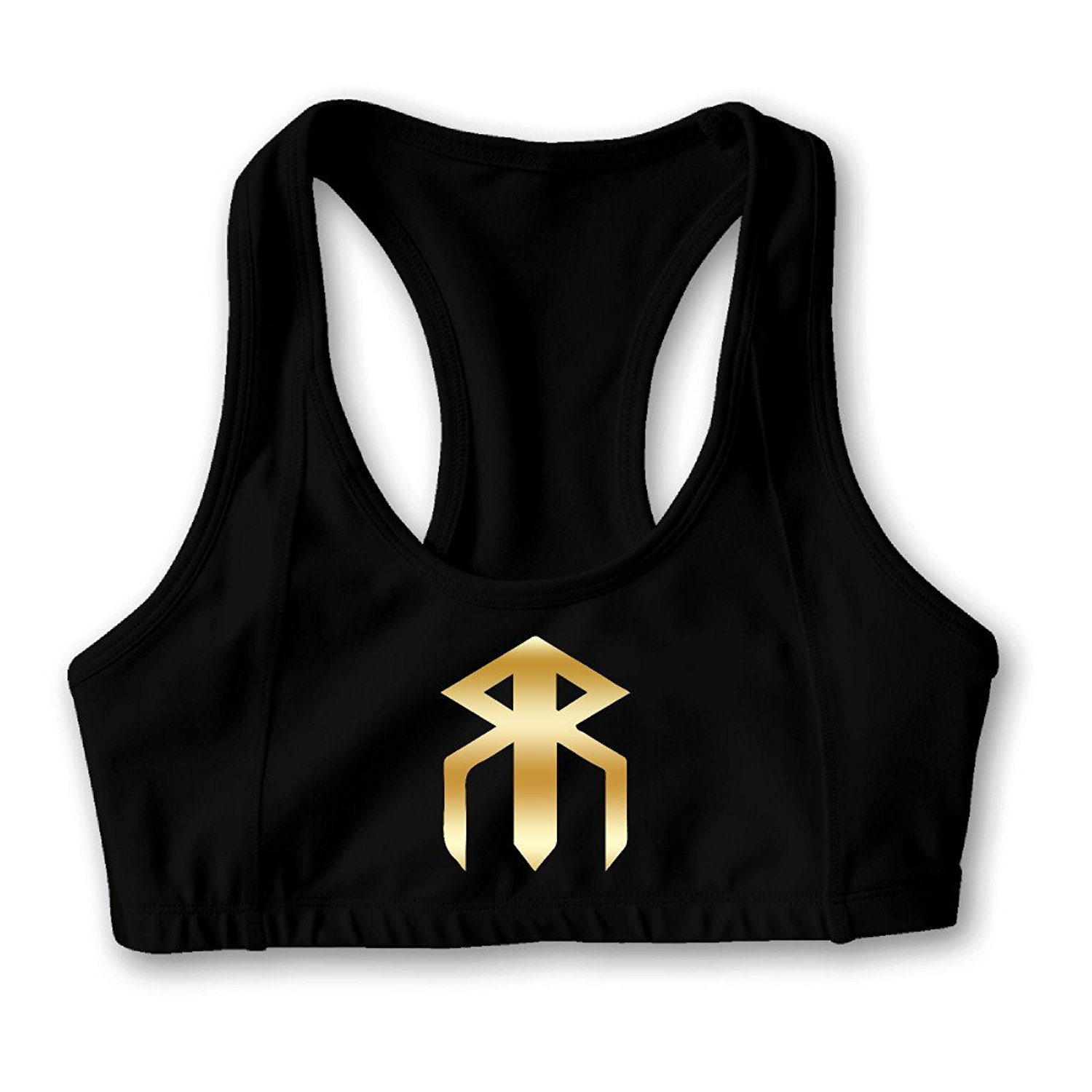 702dcf8b7a Get Quotations · UFC Champion Gold Logo Women s Oxjwn Yoga Sports Bra