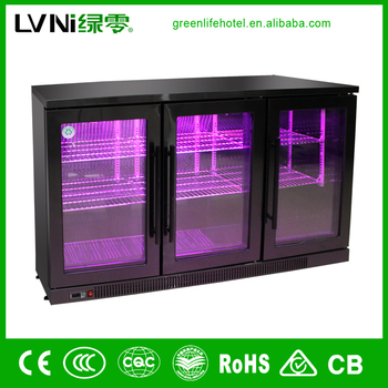 beer beverage table type refrigerated cabinet with stainless steel