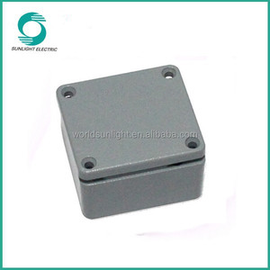 High quality waterproof ABS aluminum solar 4x4 junction box