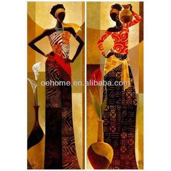 Bekend Afrikaanse Vrouwen Schilderen - Buy Afrikaanse Vrouwen Schilderen &EJ21