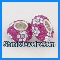 Wholesale Large Hole Austrian Crystal Beads WBSCS37