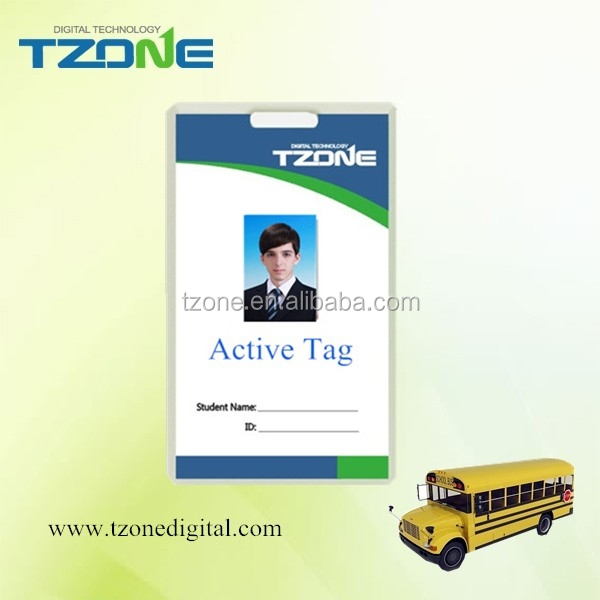 Hot sale long range small size RFID 2.4G Active Tag TZ-Tag02